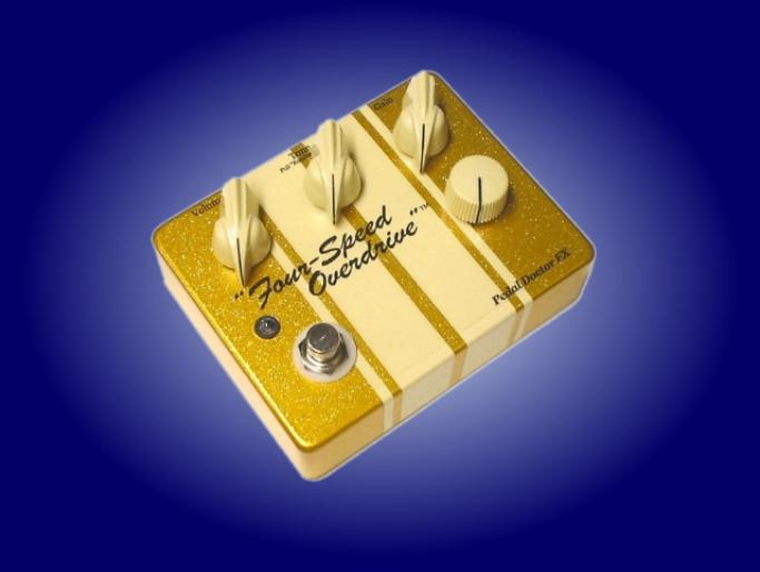 Four-Speed Overdrive in Jumbo Gold Sparkle!!